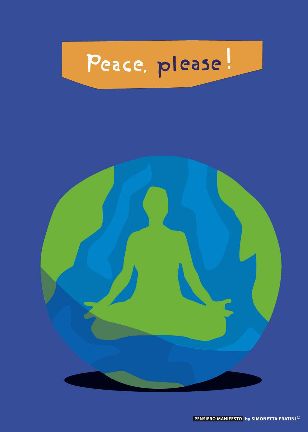 "Titolo:"" Peace, please"""