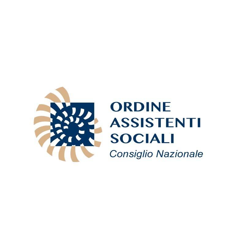 Logo dell'Ordine degli Assistenti Sociali - Consiglio Nazionale di Roma