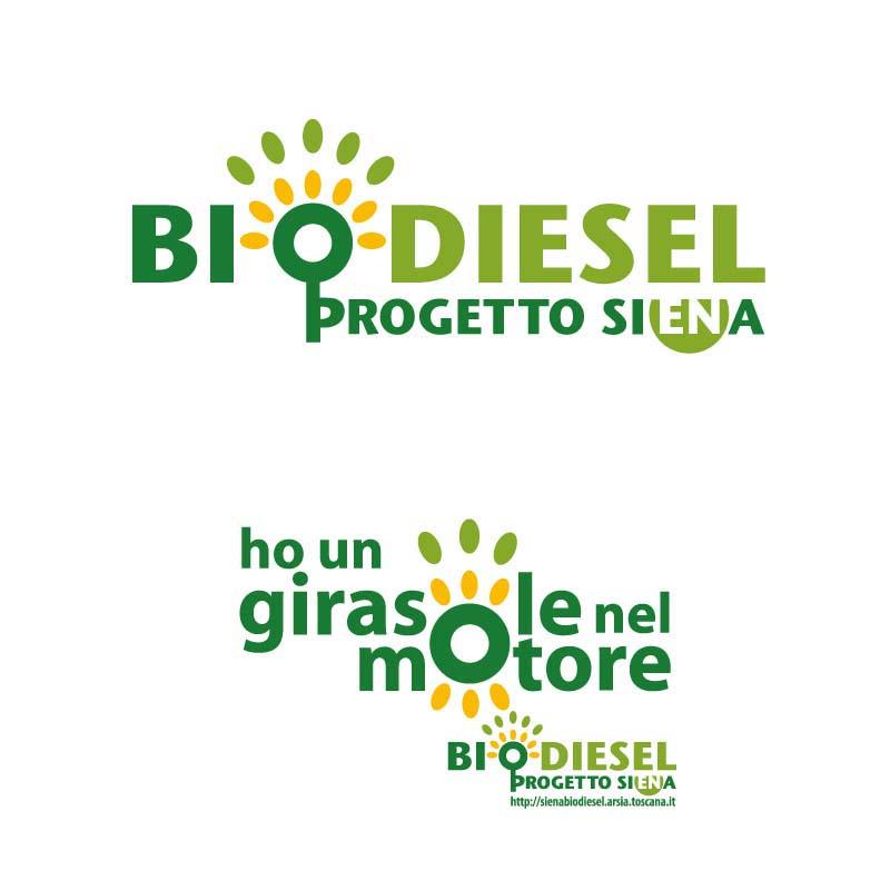 Loghi realizzati per la campagna sull'uso del Bio Diesel come carburante nei mezzi pubblici di Siena