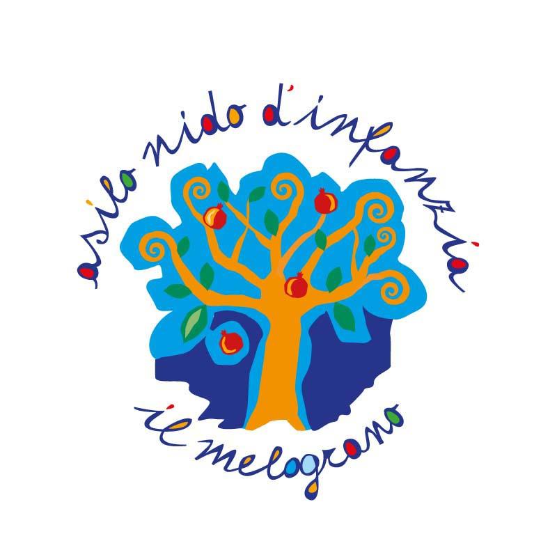 Logo dell'Asilo nido d'Infanzia Il Melograno - P5