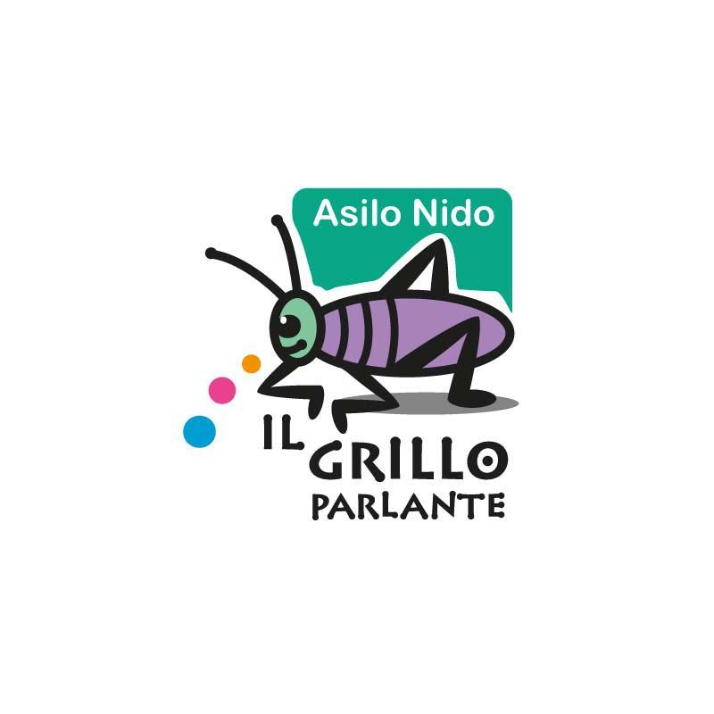 Logo dell'Asilo Nido Il Grillo parlante