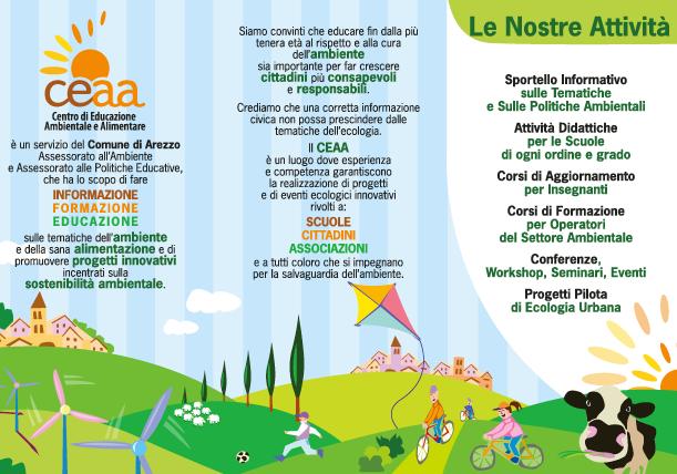 Attività del CEAA Centro di Educazione Ambientale e Alimentare del Comune di Arezzo