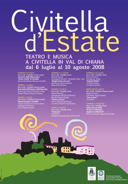 Teatro e musica a Civitella in Val di Chiana