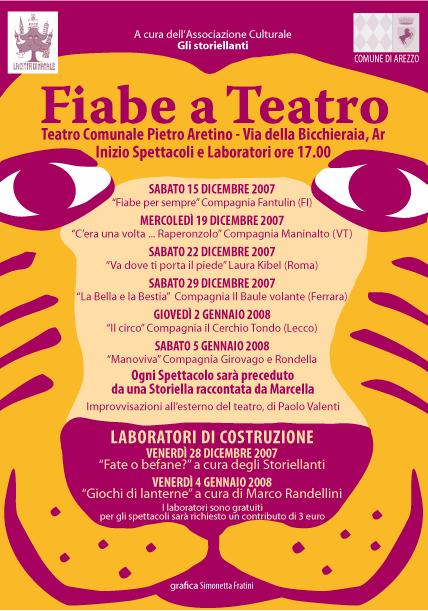 Rassegna teatrale per bambini Teatro Pietro Aretino