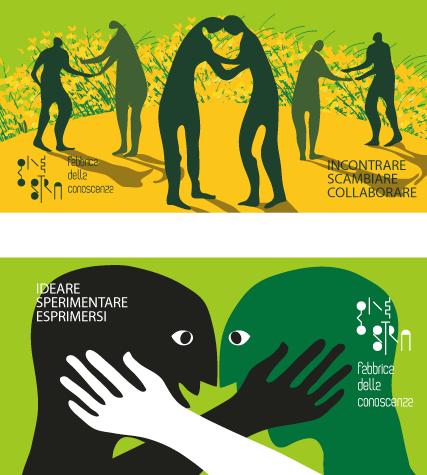 Campagna di sensibilizzazione sulla collaborazione di idee per GINESTRA FABBRICA DELLA CONOSCENZA