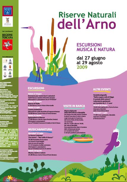 Eventi nella Riserva naturale dell'Arno