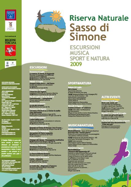 Eventi alla Riserva Naturale Sasso di Simone