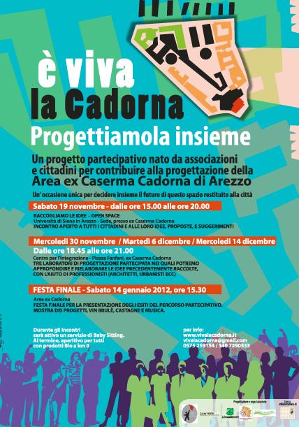 Progetto partecipativo sulla riqualificazione della ex Caserma Cadorna