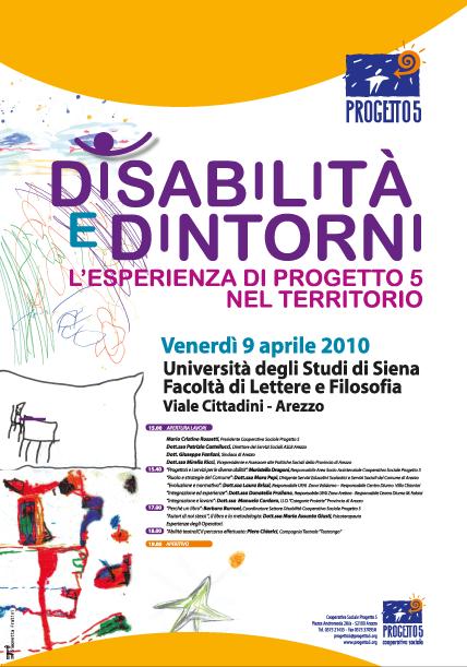Congresso sul tema: Disabilità a cura della Cooperativa Sociale Progetto 5