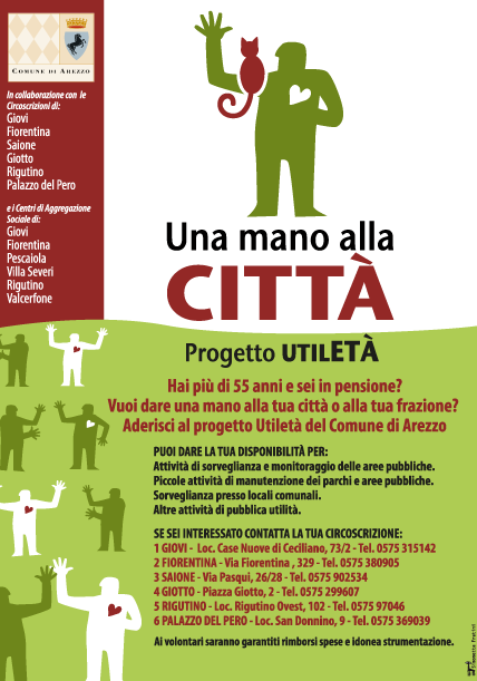 Progetto UtilETà del Comune di Arezzo
