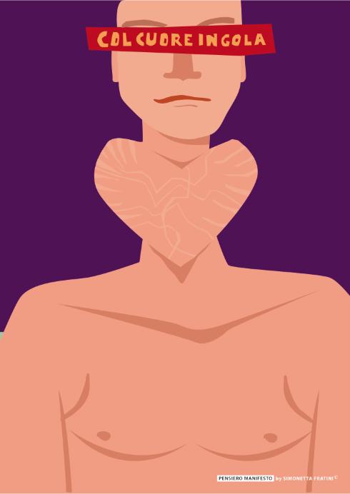"""Titolo: """"Col cuore in gola"""""""