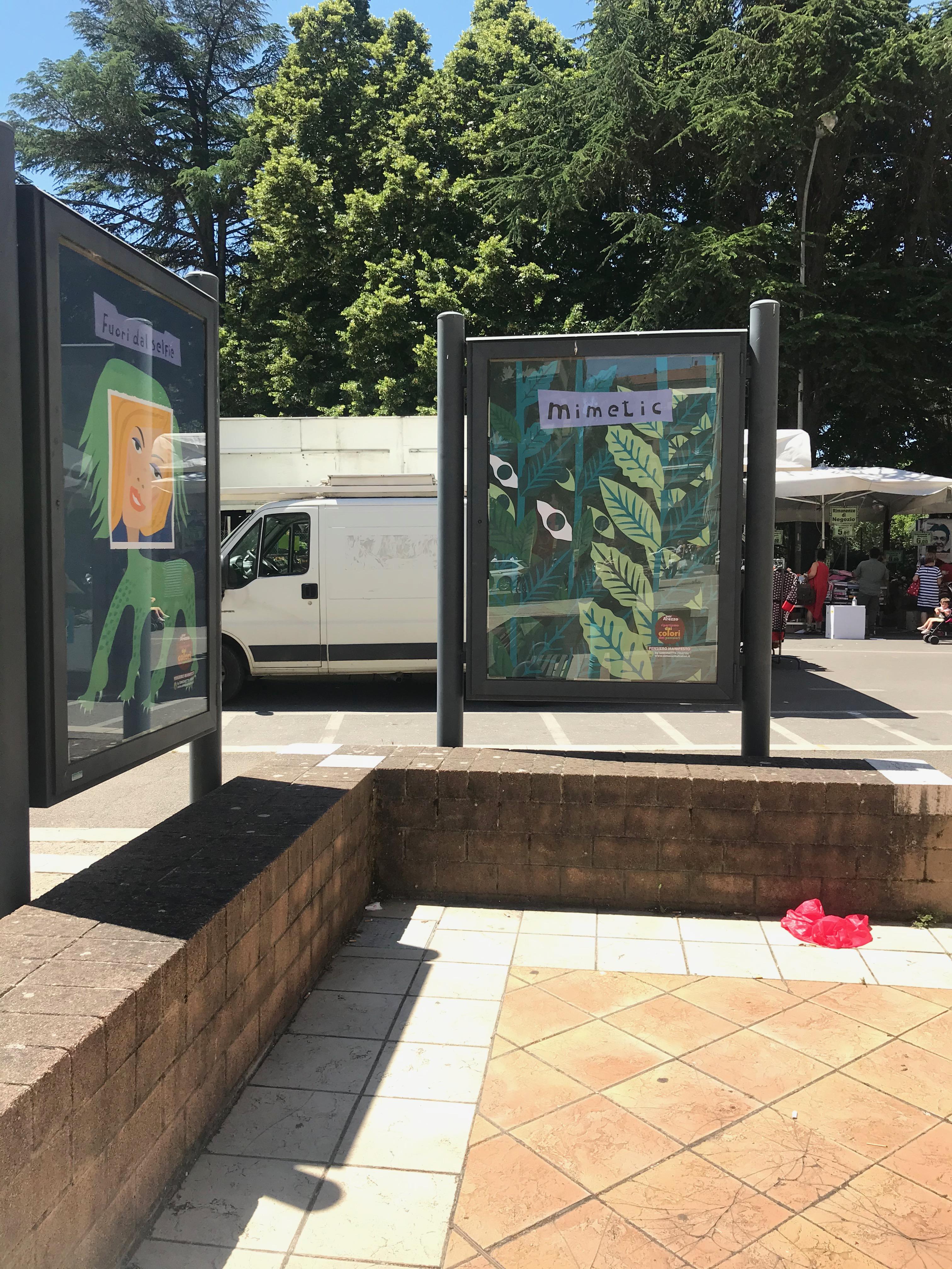 PENSIERI MANIFESTI Azione urbana per Arezzo 2020